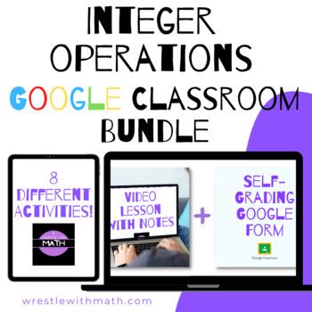 Integers Google Form Bundle – Perfect for Google Classroom!