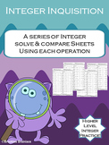 Integer Inquisition: Compare Integers Using All Operations