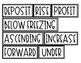 Integer Key Words Card Sort