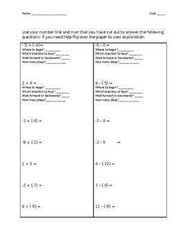 Integer Man Guided Notes