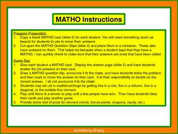 Integer Matho