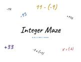 Integer Maze!
