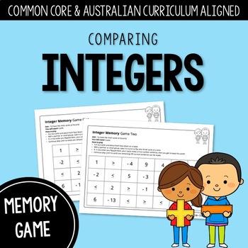 Integer Memory: Comparing Integers | AUSTRALIAN CURRICULUM