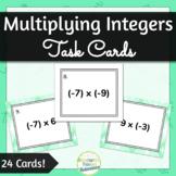 Integer Multiplication Task Cards