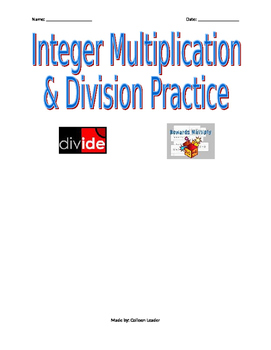 Integer Multiplication and Division Practice