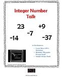 Integer Number Talk