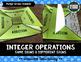 Integer Operations Bundle (Adding, Subtracting, Multiplyin