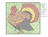 Integer Operation Coloring Puzzle