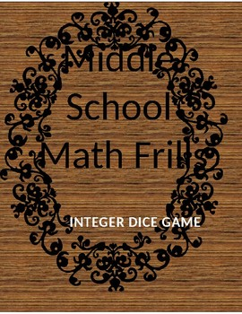 Integer Operation Dice Game