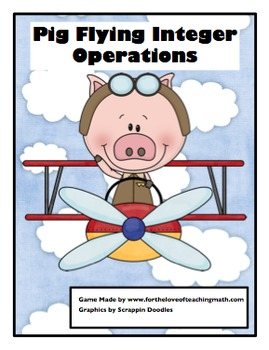 Integer Operation Pig Flying Dice Game
