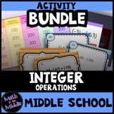 Integer Operations Activities BUNDLE