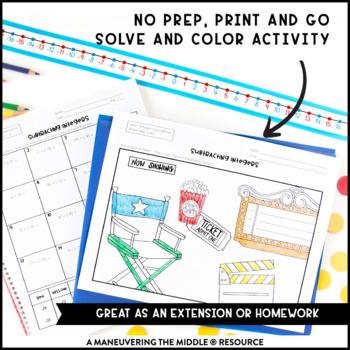 Integer Operations Activity Bundle