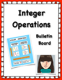 Integer Operations Bulletin Board