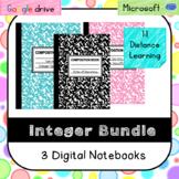Integer Operations Bundle (SOL 6.6a,b,c) Digital Notebooks