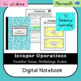 Integer Operations Digital Notebook (VA SOL 6.6) Distance