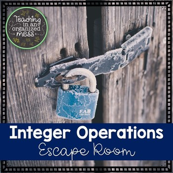 Integer Operations Escape Room