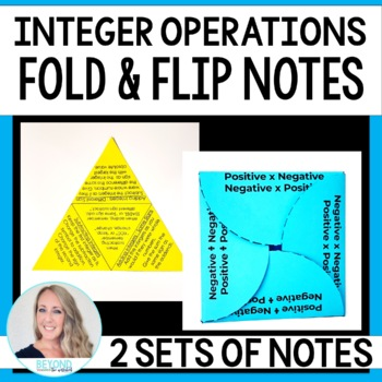 Integer Operations Fold and Flip Notes