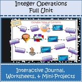 Integer Operations Full Unit Bundle Distance Learning Goog