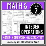 Integer Operations (Math 6 Curriculum – Unit 2)