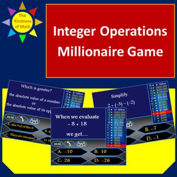Integer Operations Millionaire