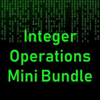 Integer Operations Mini Bundle