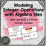 Integer Operations Algebra Tile Models