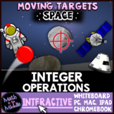 Integer Operations Moving Targets Interactive Review Game