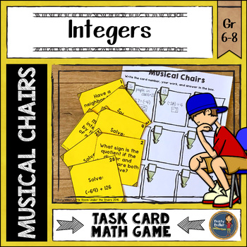 Integers Musical Chairs