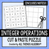 Integer Operations Notes and Puzzle