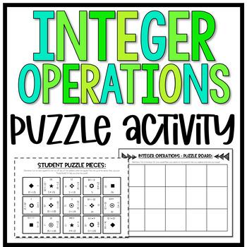 Integer Operations Puzzle