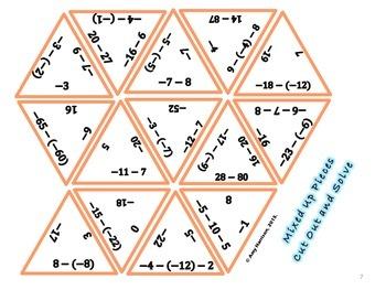 Integer Operations Puzzles