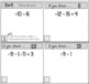 Integer Operations - Set of FOUR Scavenger Hunt Worksheets