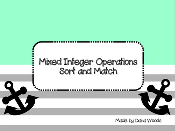 Integer Operations Sort