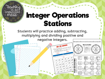 Integer Operations Stations