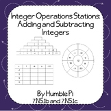 Integer Operations Stations: Adding and Subtracting Intege