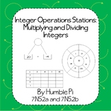 Integer Operations Stations: Multiplying and Dividing Inte