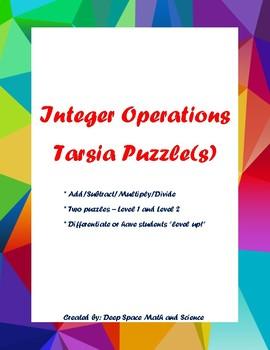 Integer Operations Tarsia Puzzle