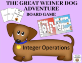 Integer Operations – The Great Weiner Dog Adventure Board Game