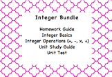 Integer Operations Unit Bundle