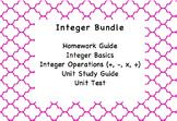 Integer Operations Unit Bundle