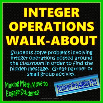 Integer Operations Walk-About