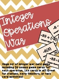 Integer Operations War
