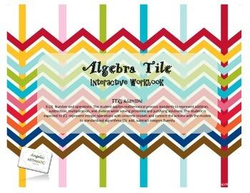 Integer Operations with Algebra Tiles- Interactive Workbook