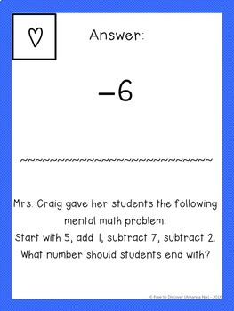 All Operations with Rational Numbers Activity - Scavenger Hunt