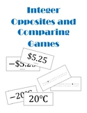 Integer Opposites and Comparing Games