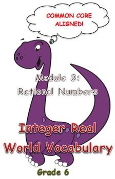 Integer Real World Vocabulary