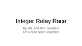 Integer Relay Race