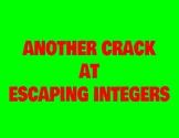 Integer Review Digital Escape Room #3