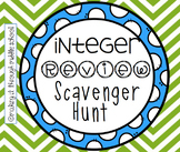 Integer Review Scavenger Hunt