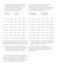 Integer Review Worksheet with Word Problems by Don Nelson